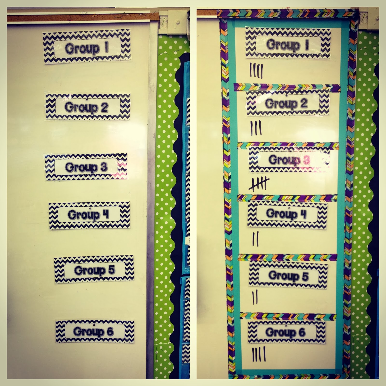 Classroom Grouping Ideas ~ Scotch expressions tape classroom diy ideas apples and abc s
