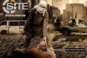 """ISIS mostra Papa decapitado, quer """"sangue de cristãos"""" e ameaça Vaticano"""