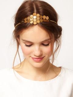 asos golden headband thumb - Yazl�k Sa� Band� �nerileri