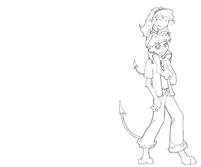 printable talia wagner and friends_coloring pages