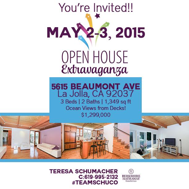 Team SchuCo and BHHS La Jolla Open House Extravaganza