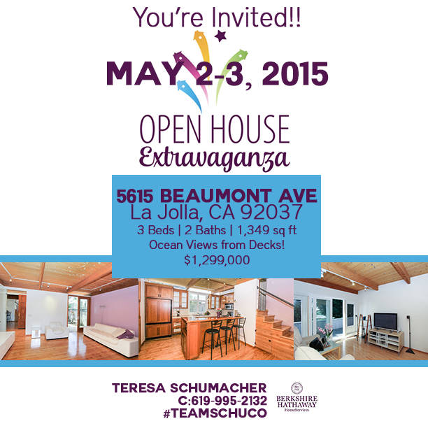 La Jolla Open House Extravaganza with Berkshire Hathaway HomeServices