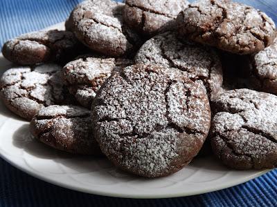 morbidi biscotti al cioccolato