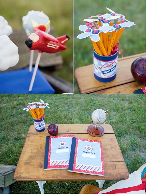 Little Aviator Airplane Inspired Birthday Party Ideas