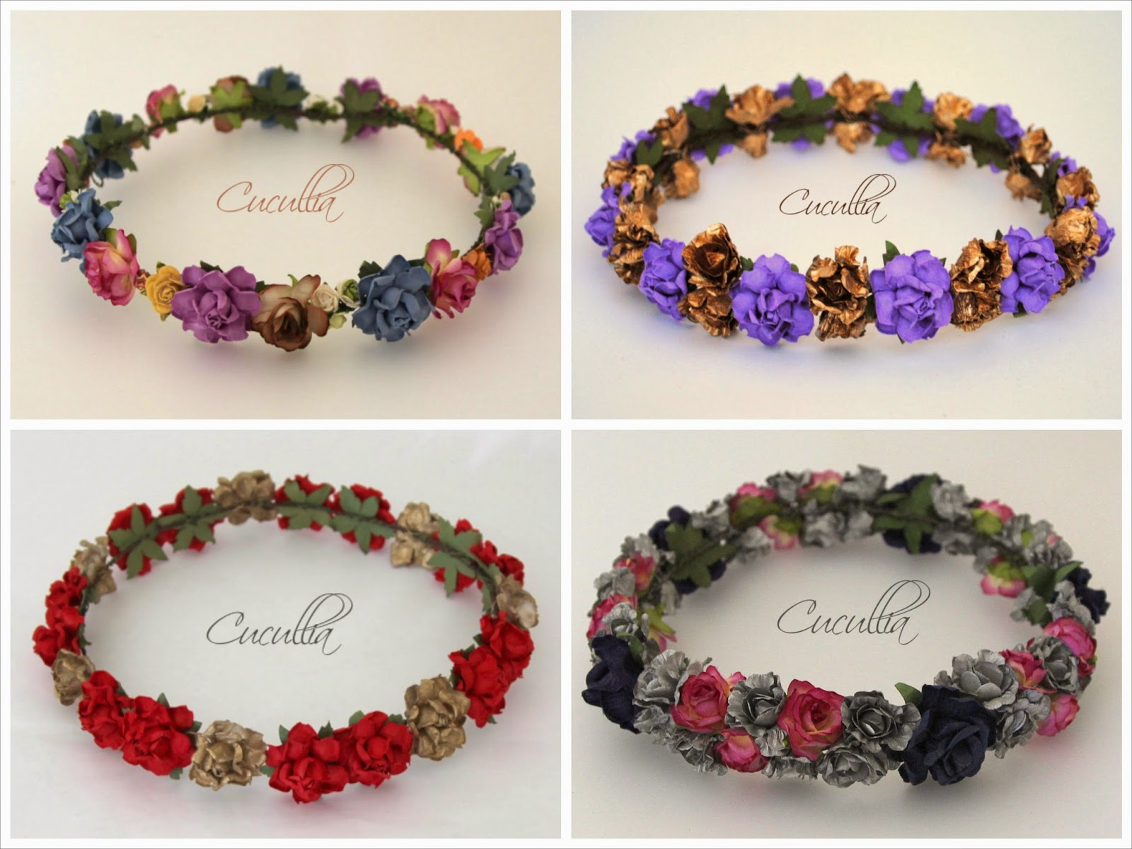 Coronas de flores y turbantes by Cucullia Sweet Bodas