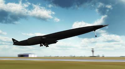 Pesawat Masa Depan Mampu Menembus Atmosfer Bumi