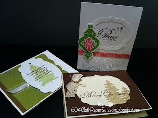 Holiday stamp-a-stack class Ida Chan Vancouver Stampin' Up