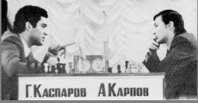 - DOCUMENTAL: PRIMER DUELO KÁRPOV VS KASPÁROV (1984) -