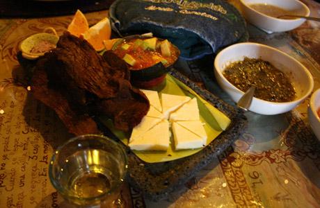 cecina, queso corija, San Miguelito