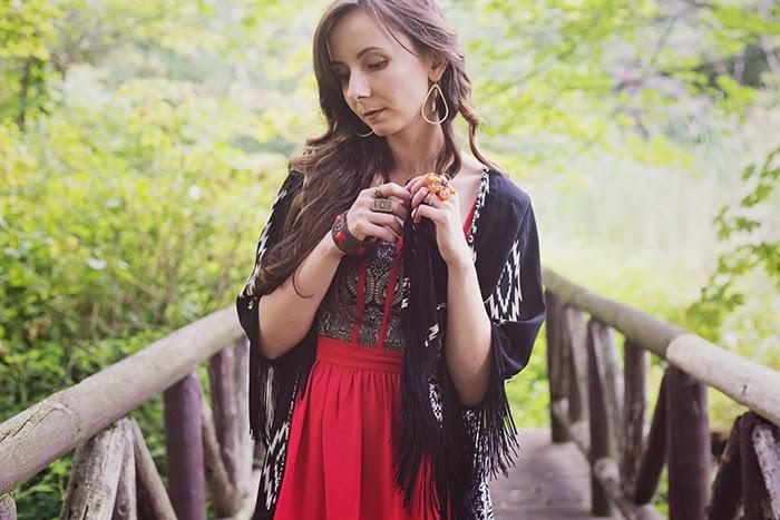 Tribal-Kimono-Red-Brocade
