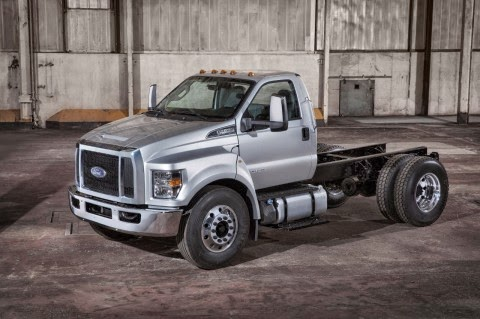 Ford Moves 2016 F-650/F-750 Production from Mexico to Ohio