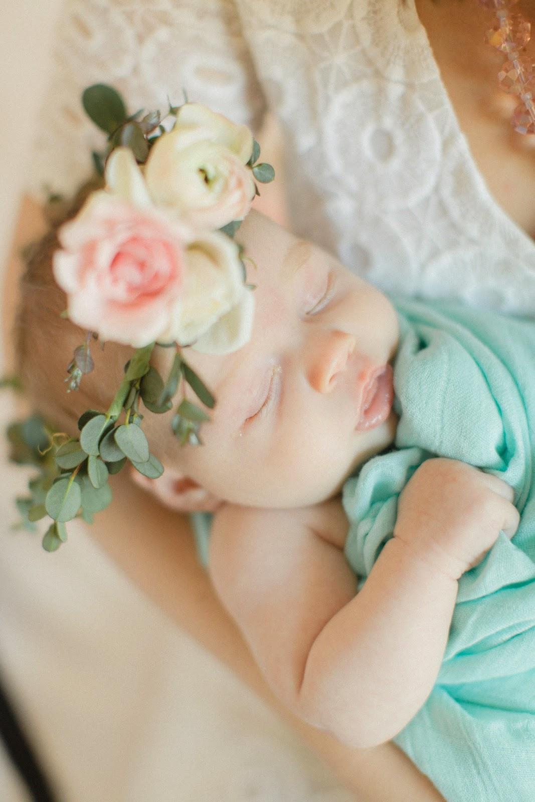 Newborn photoshoot floral crown wreath deborah zoe photography newborn photoshoot floral crown wreath deborah zoe photography izmirmasajfo