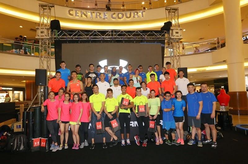 Under Armour, Earn Your Armour, Challenge, Mid Valley Megamall
