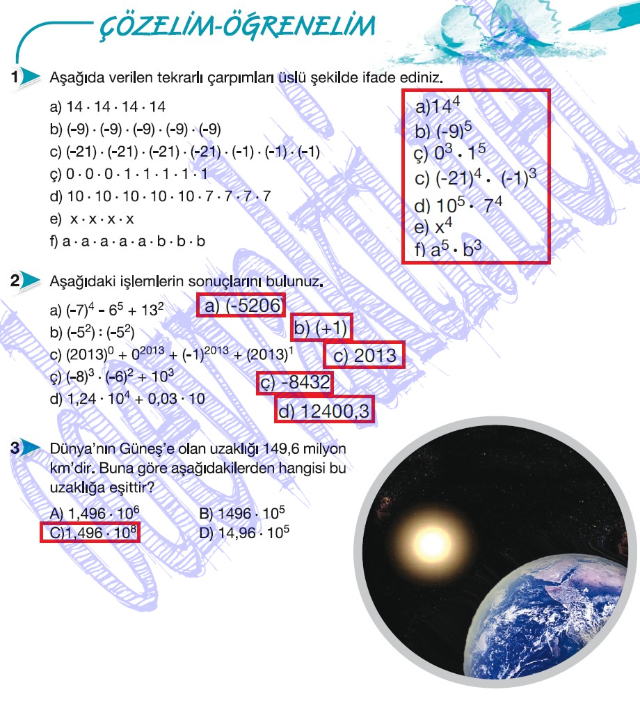 sınıf matematik ders kitabı cevapları matematik ders kitabı