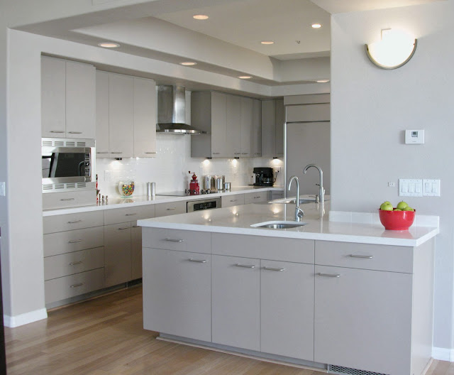 Kitchen Ideas With White Cabinets and White Appliances