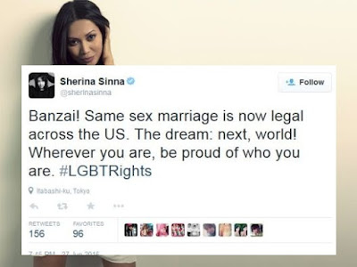 anggun sherina lgbt marriage