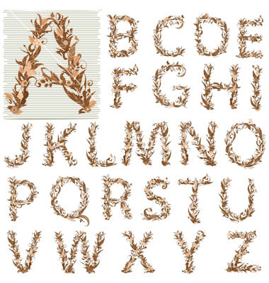 Autumn Alphabet Letters4