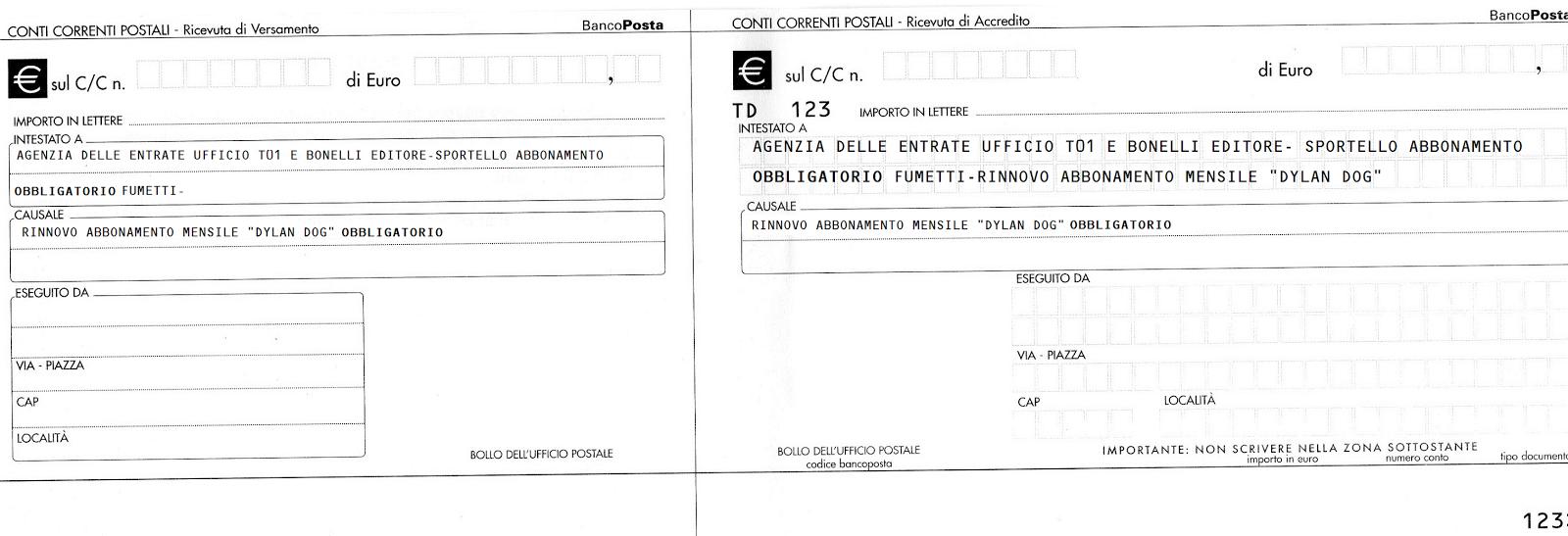 E vidi colui che le lettere a caso pone recensione for Bollettino precompilato