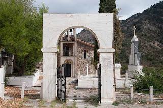Memorial in Rogo - Greece