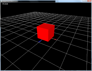 PhysX3.1 Simple Box