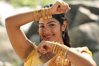 Actress Nalini Dark Armpit in short sleeve yellow blouse