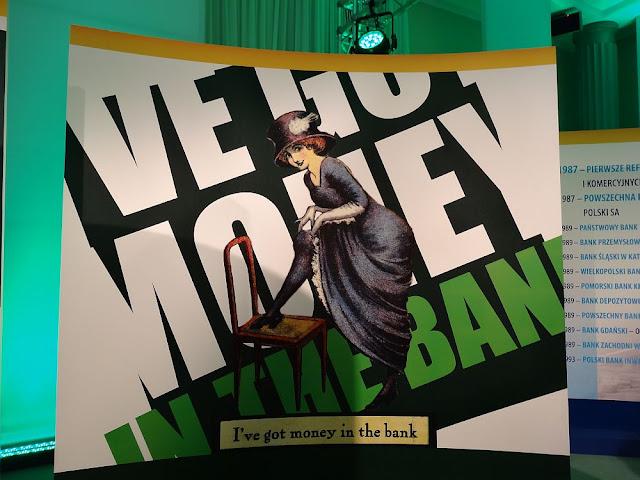 Trzymam pieniądze w banku