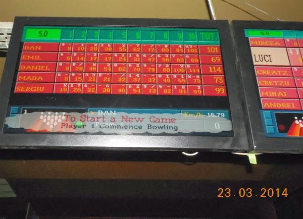 calificari la bowling