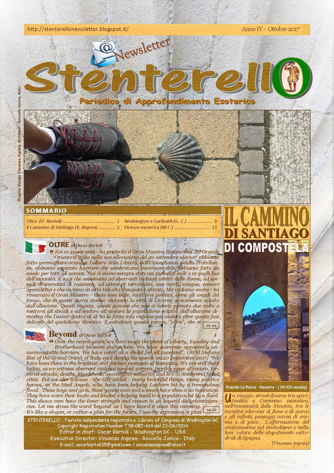 Stenterello Anno IV - Ottobre 2017