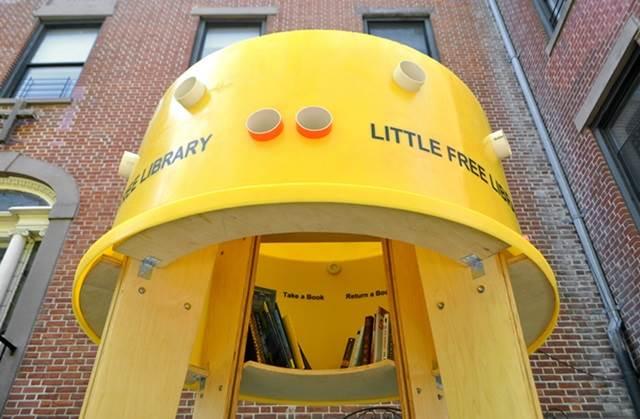 bahagian bawah perpustakaan