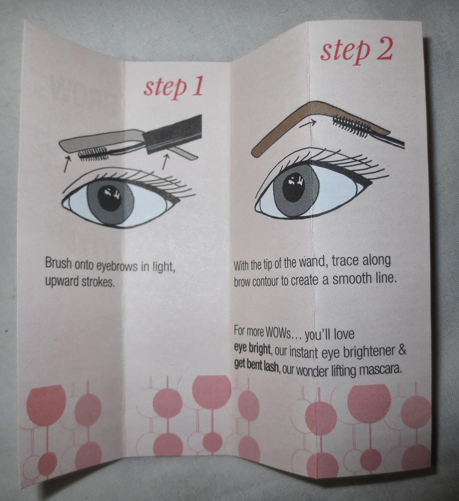 Benefit Speed Brow Tutorial
