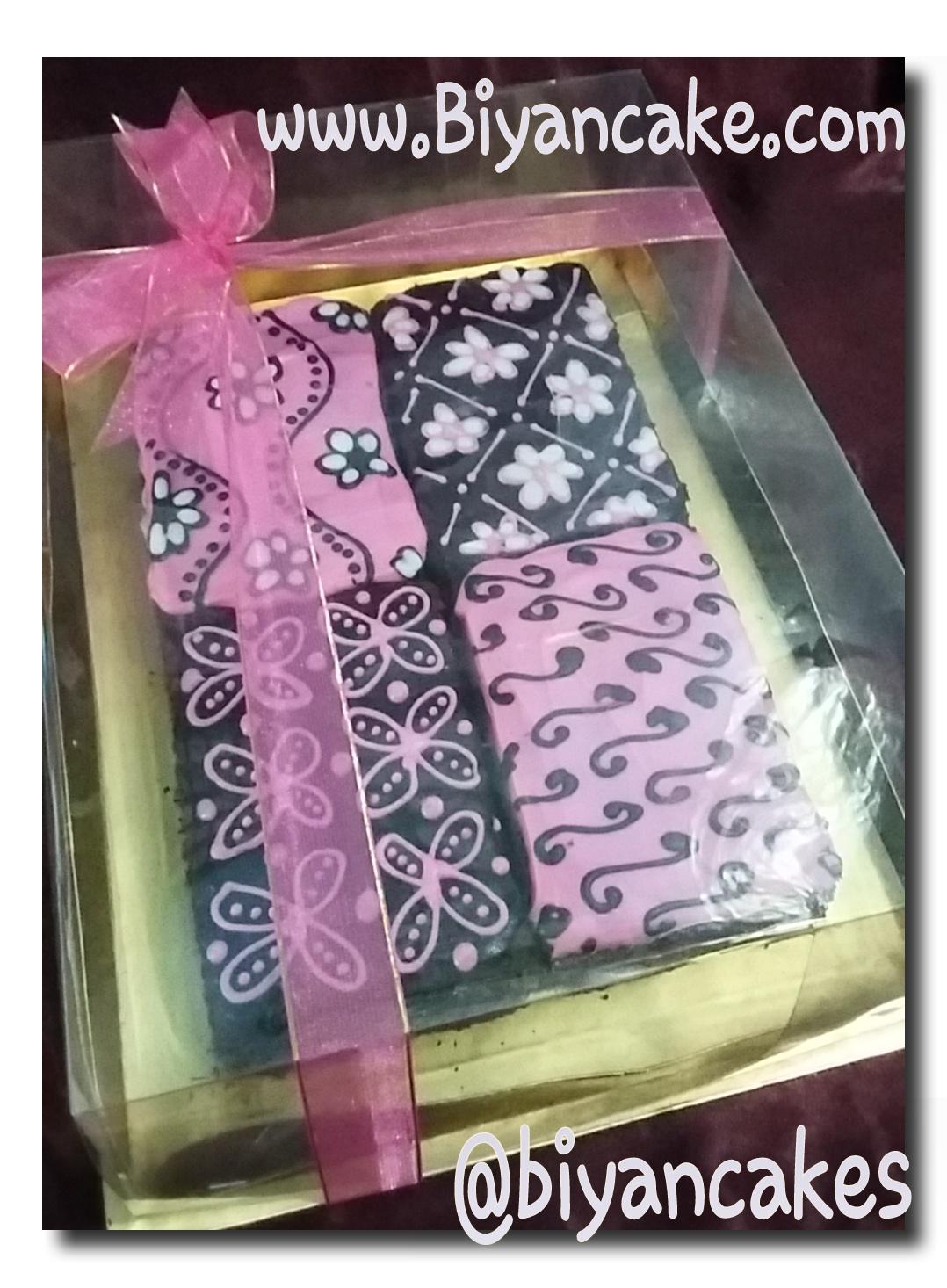 Brownies kukus batik~ Nasya