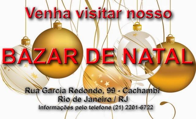 BAZAR DE NATAL CAIXINHA DE VIDRO