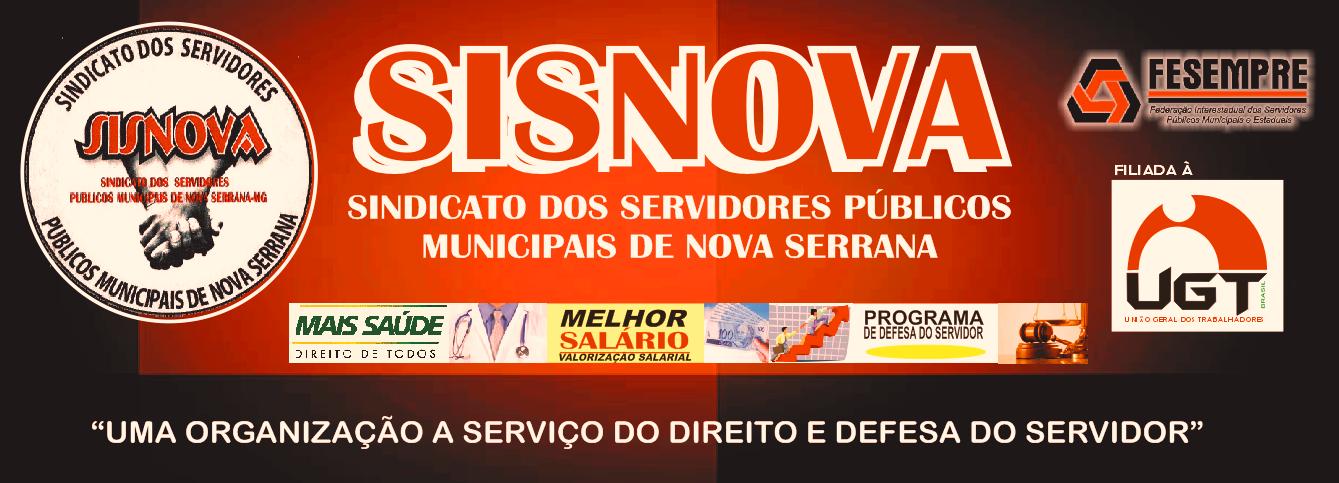 Sisnova Sindicato dos Servidores Públicos Municipais de Nova Serrana