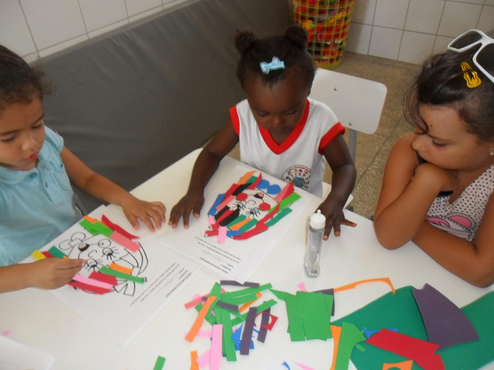 Plano de aula para a pré escola