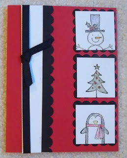 Card made with the Stampin'UP! Stamp Set: Punch Pals