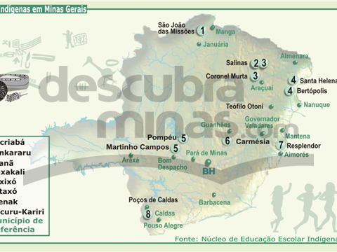 A população Indígena em Minas Gerais
