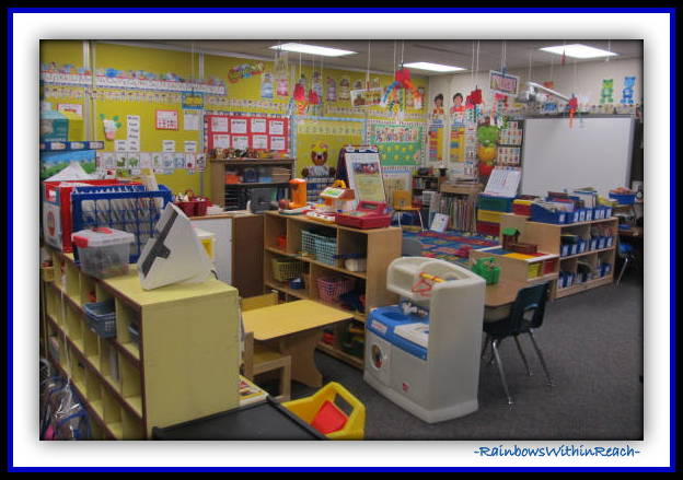 Classroom SetUP Overview (Classroom Decor RoundUP at RainbowsWithinReach)