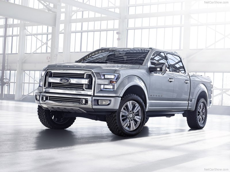 ford atlas concept the future of pick up truck