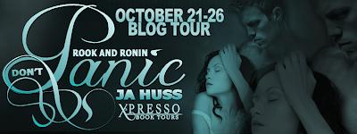 Blog Tour: Panic (Rook and Ronin #3) by JA Huss
