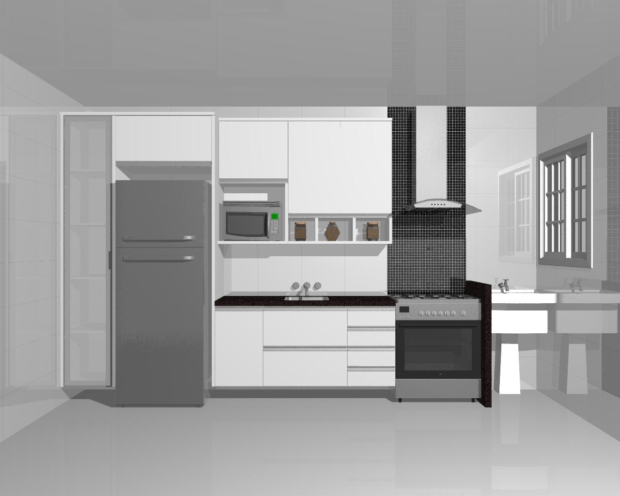 Moveis Planejados Cozinha Americana Apartamento Muito Importante