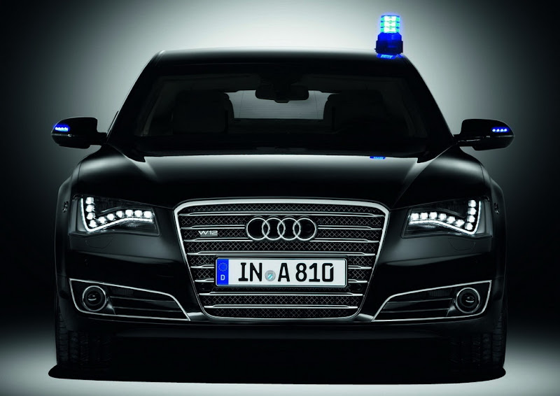 2011 Audi A8L W12 Security