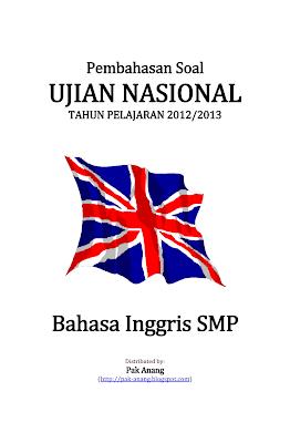 Pembahasan Soal Un Bahasa Inggris Smp 2013