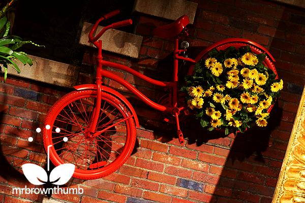 Bike Garden Planter
