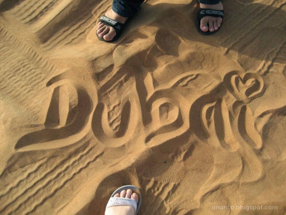Dubai, escrito no Deserto das Arábias