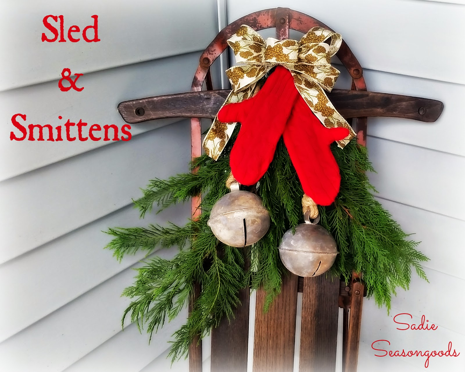 Sled & Smittens, shared by Sadie Seasongoods