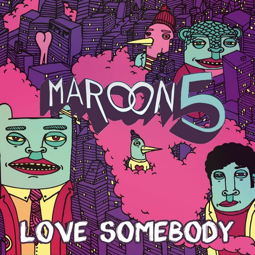 Maroon 5  The single is the fourth release off of their albumMaroon 5 Animals Album Cover