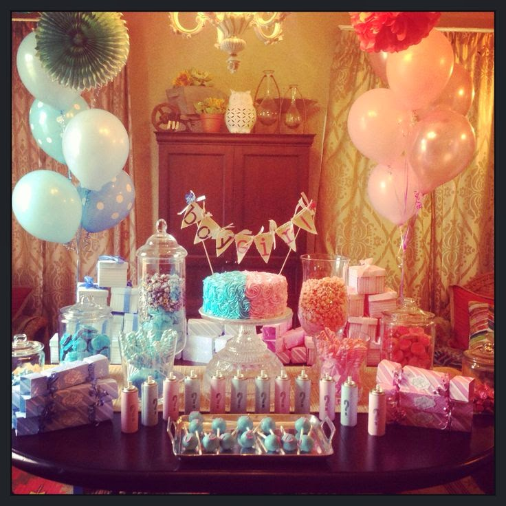 Strawberry Fizz Party Ideas: Gender Reveal