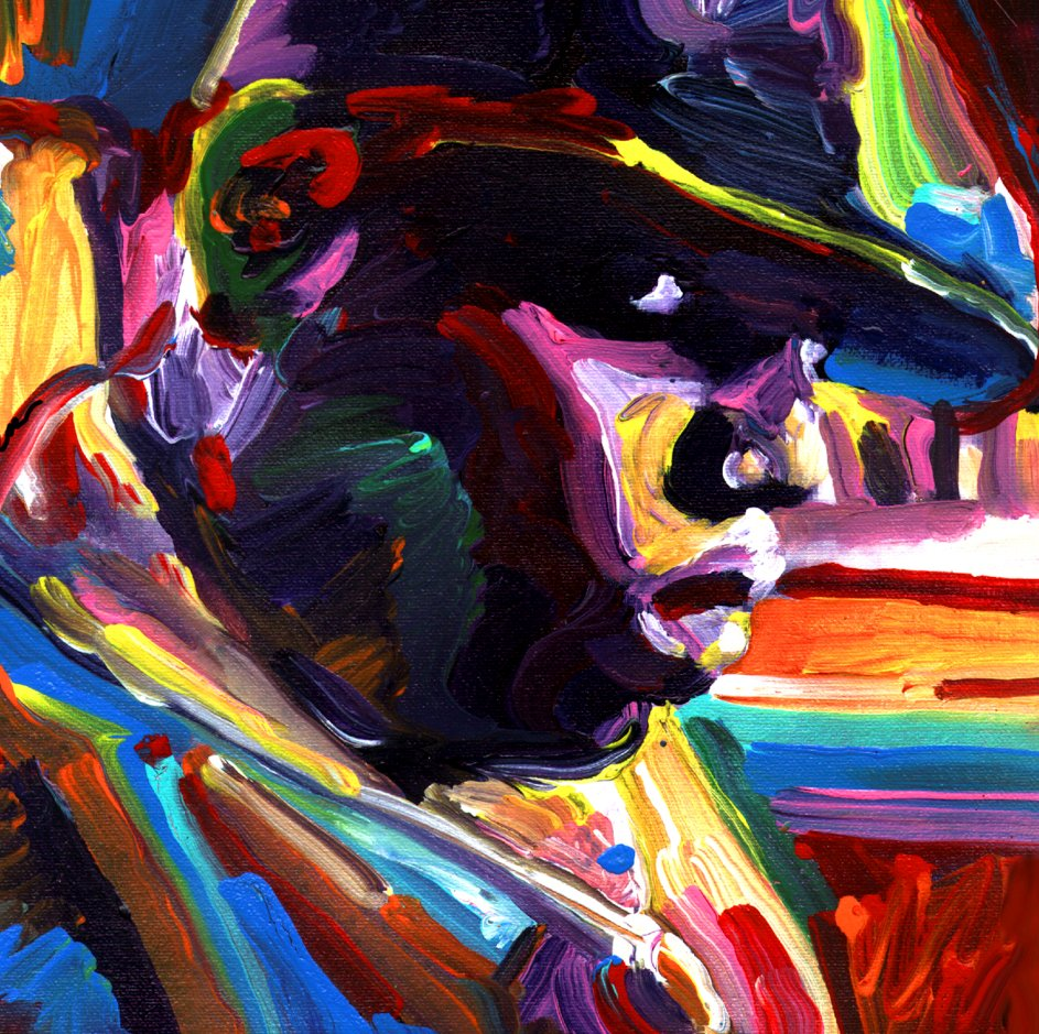 Biggie Painting According to Jason...:...