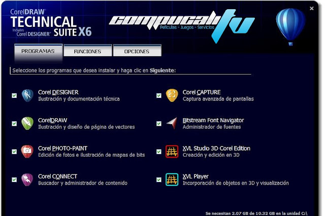 CorelDRAW Technical Suite X6 Versión 16.3.0