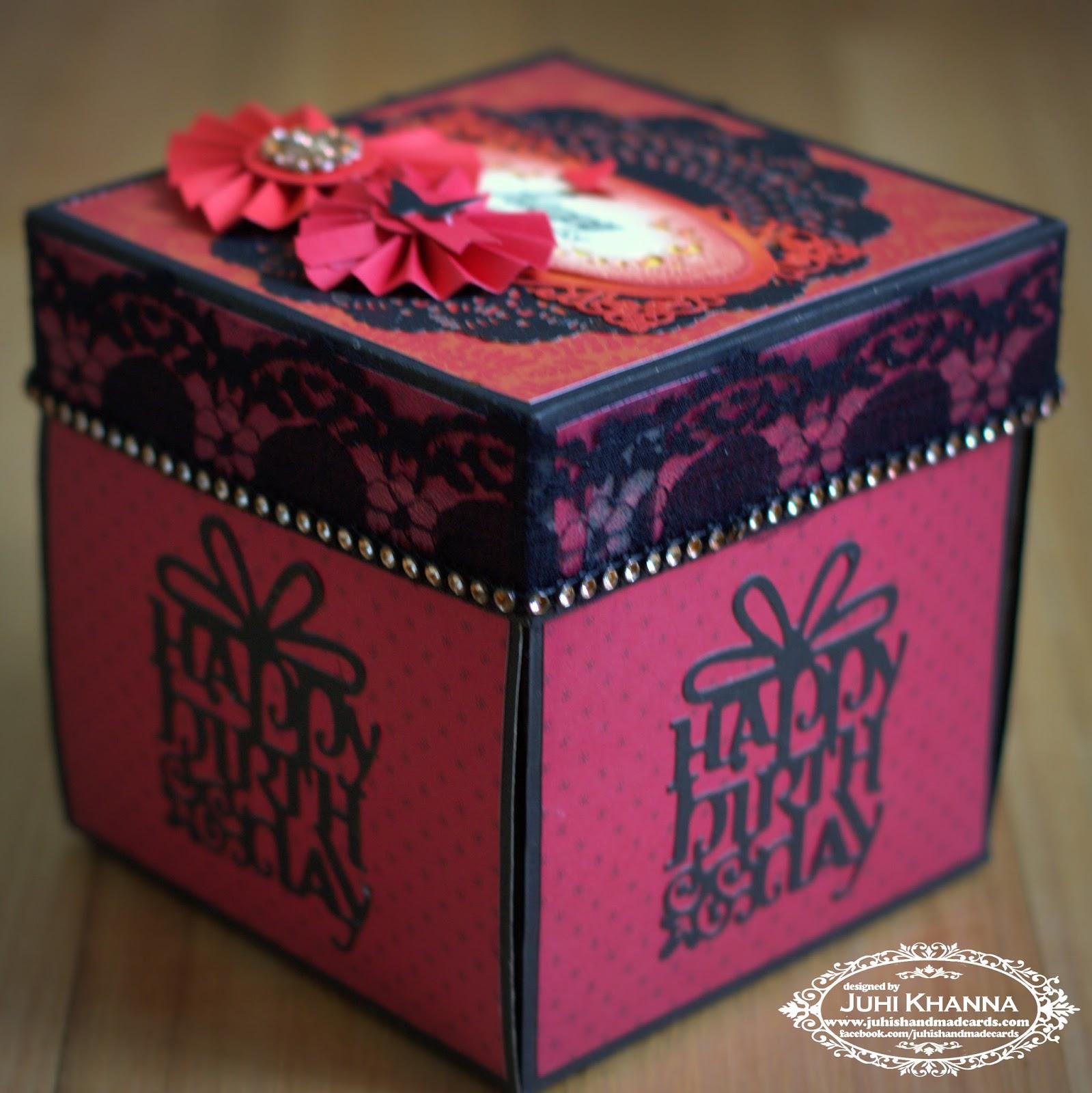Birthday Cards Box ~ Birthday card box gangcraft